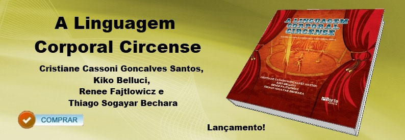 banner do livro A Linguagem corporal circense